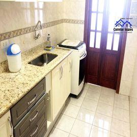 Apartamento residencial de 01 dormitório no Estuário, Santos, SP. A F Soares Corretor de Imóveis - Veja Casas