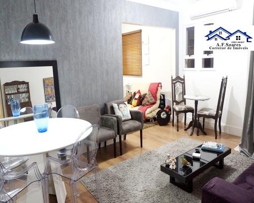 Apartamento residencial a venda, 2 dormitórios, Ponta da Praia, Santos/SP A F Soares Corretor de Imóveis - Veja Casas