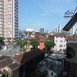 Vendo Apartamento Residencial 3 dormitórios , 1 suite , 1 vaga ,Macuco , Santos A F Soares Corretor de Imóveis - Veja Casas